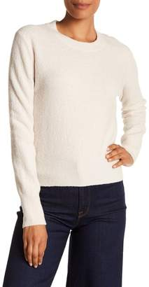 Vince Textured Wool Blend Knit Pullover