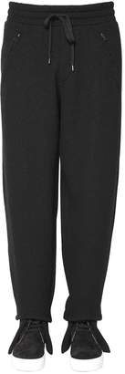 Ports 1961 20cm Wool Cotton Jersey Jogging Pants