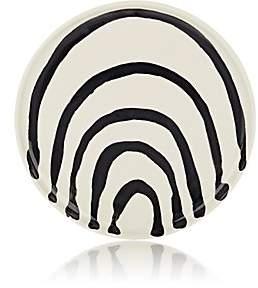 Hudson Nicholas Newcomb Valley Arcade Coup Dessert Plate-Black