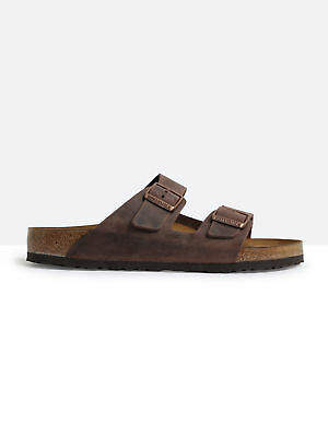 Birkenstock New Bir Arizona Oiled Le Brown 44