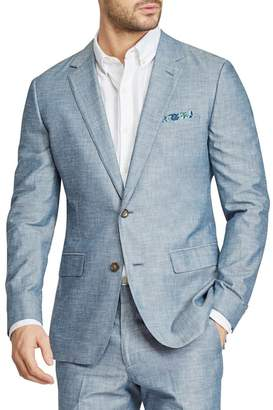 Bonobos Trim Fit Chambray Cotton Blazer