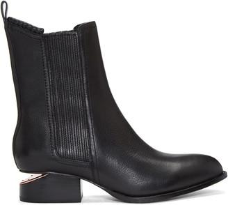 Alexander Wang Black Anouck Boots $620 thestylecure.com