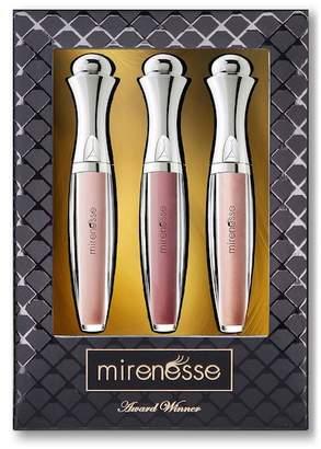 Mirenesse Supreme Holiday Velvet Lip Plumper Naked Mini Trio 3-Piece Set - Multi