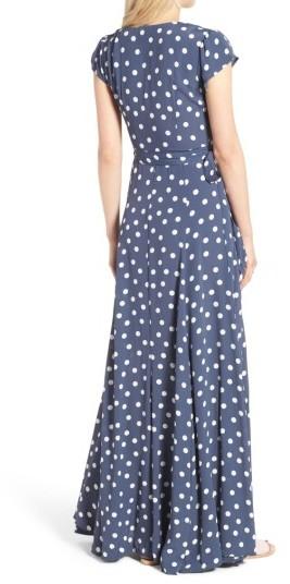 Women's Tularosa Sid Wrap Maxi Dress 5