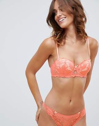 Heidi Klum Intimates lace bra in orange