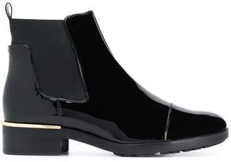 Högl panelled chelsea boots