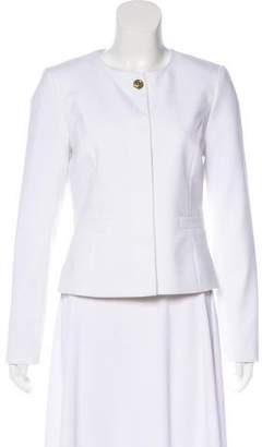Calvin Klein Long Sleeve Scoop Neck Jacket