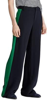 2f9b27ddb58 Ralph Lauren Satin Tuxedo-Stripe Twill Pants