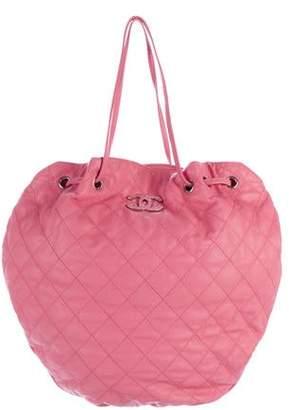Chanel Cocomark Drawstring Bag