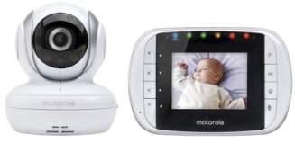 Motorola MBP 33S Wireless Digital Video Baby Monitor