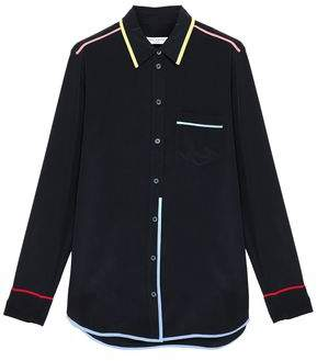 Equipment Reese Washed-silk Shirt