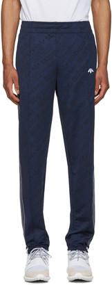 adidas Originals by Alexander Wang Indigo Jacquard TP Track Pants $210 thestylecure.com