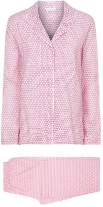 Derek Rose Triangle Pyjama Set