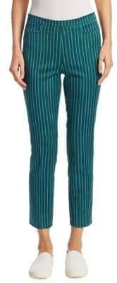 Akris Punto Franca Striped Ankle Pants