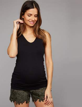 A Pea in the Pod Secret Fit Belly Lightly Lined Maternity Shorts