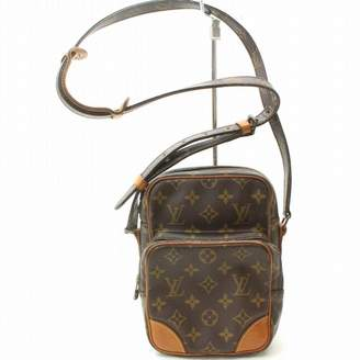Louis Vuitton Amazon Brown Leather Handbags