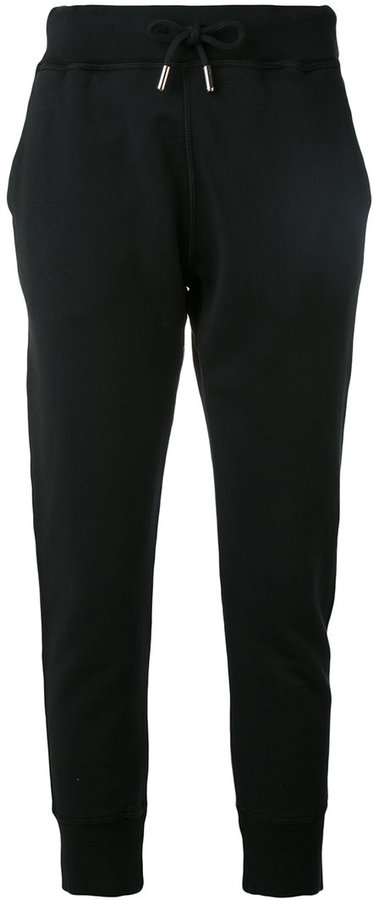 DSQUARED2 slim logo track trousers