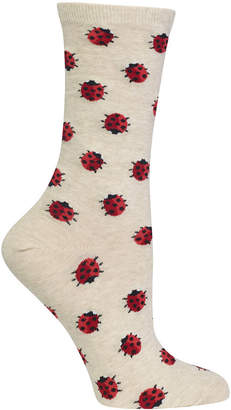 Hot Sox Women's Ladybug Socks