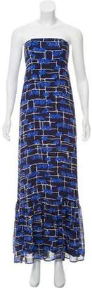 Calypso Strapless Print Maxi Dress