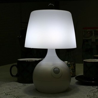 """Ivation Battery Operated Motion Sensing 10"""" Table Lamp"""