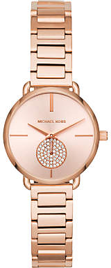 Michael Kors Women's Mini Portia Bracelet Strap Watch
