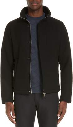 Emporio Armani Broadcloth Down Jacket