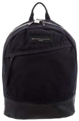 WANT Les Essentiels Leather-Trim Kastrup Backpack