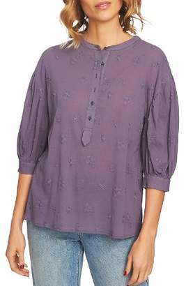 1 STATE 1.STATE Embroidered Cotton Top