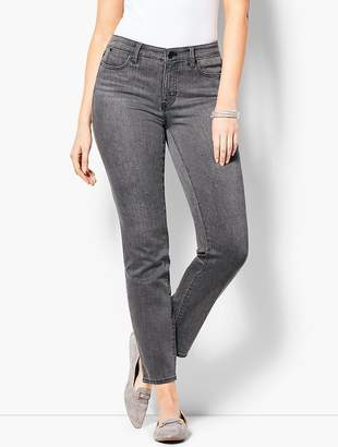 Talbots Slim Ankle Jean - Curvy Fit/Luna Grey
