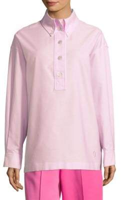Marc Jacobs Oversized Button-Front Top