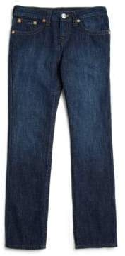 True Religion Boy's Geno Slim-Fit Cotton Jeans