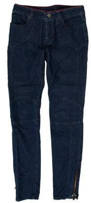 Louis Vuitton Mid-Rise Skinny Jeans