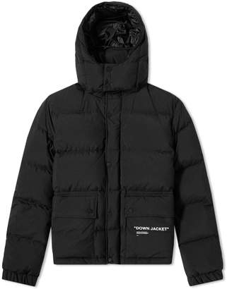 Off-White Off White Quotes Puffer Jacket