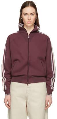 Etoile Isabel Marant Burgundy Darcey Track Jacket