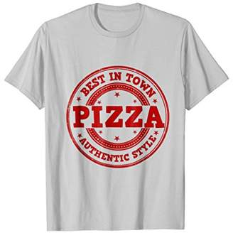 Best in Town Pizza T-shirt Great for Pizza Chef or Delivery