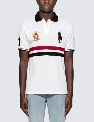 Polo Ralph Lauren Custom Slim Fit S/S Polo With Badge