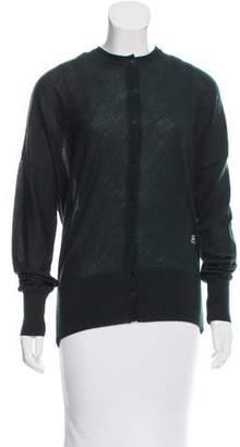 Balenciaga Wool Logo Cardigan