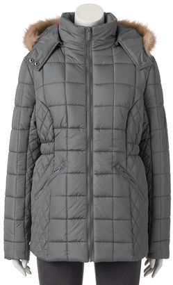 Women's Totes Hooded Quilted Puffer Jacket $140 thestylecure.com