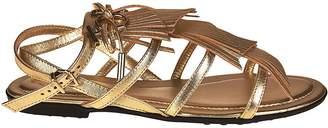 Tod's Multi-strap Flat Sandals