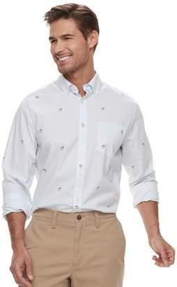 Sonoma Goods For Life Men's SONOMA Goods for Life Modern-Fit Poplin Button-Down Shirt