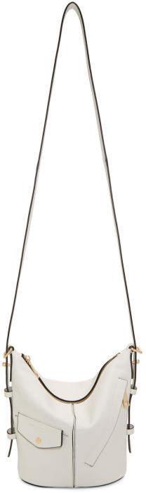 Marc Jacobs White Mini The Sling Bag