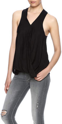 Blank NYC Cross Front Racerback Top