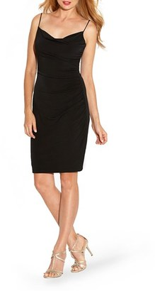 Laundry by Shelli Segal Ruched Jersey Body-Con Dress $168 thestylecure.com