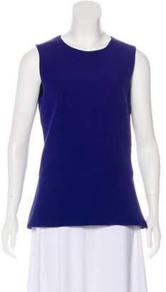 Victoria Beckham Wool-Blend Sleeveless Top