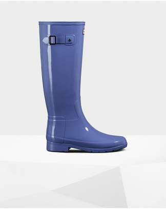 Hunter Womens Refined Slim Fit Gloss Rain Boots