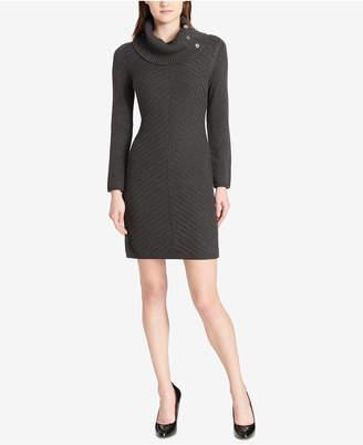 Tommy Hilfiger Cowl-Neck Knit Sweater Dress