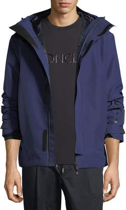 Moncler Megeve High-Performance Hooded Jacket