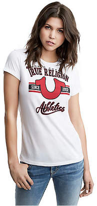 True Religion Horseshoe University Crew Tee