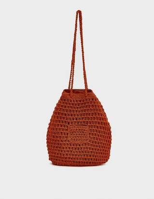 2c2c43cf3a96 Paloma Wool Morgui Crochet Bag in Orange