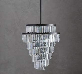 Pottery Barn Gemma Helix Crystal Chandelier